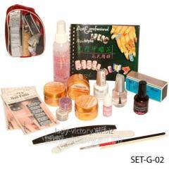Set for building by SET-G-02 gel