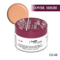 The camouflaging Golden Apricot gel. CG-08