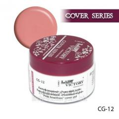 The camouflaging Pink Hoarfrost gel. CG-12