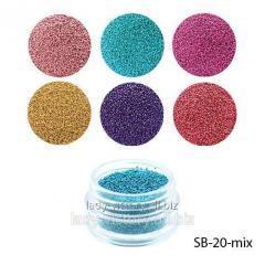 Bulyonki color in jars. SB-20-mix