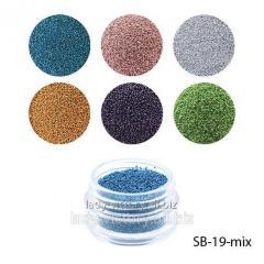 Bulyonki color in jars. SB-19-mix