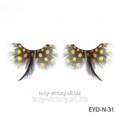 Decorative podiumny eyelashes of EYD-N