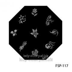 Форма для штампа. FSP-117