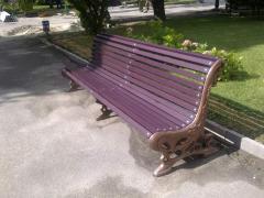 Скамейки 2-х, 3-х-метровые парковые,садовые