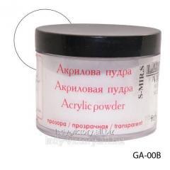 Crystal and transparent acrylic powder. GA-00B