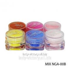 Set of acrylic powders. NGA-00B