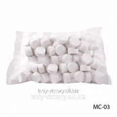 One-time cosmetic face pack in tablets. MC-03