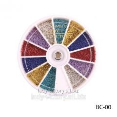 Color bulyonka in round container. BC-00