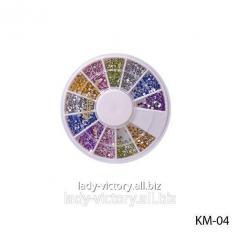 Round decorative pastes. KM-04