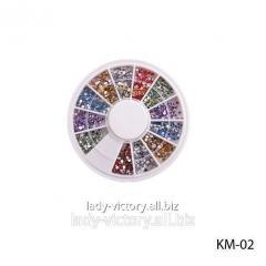 Round decorative pastes. KM-02