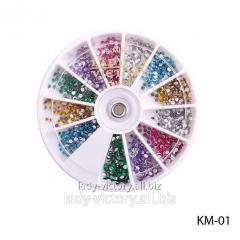 Round decorative pastes. KM-01