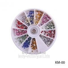 Round decorative pastes. KM-00