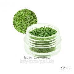 Light greenbulyonka in a round