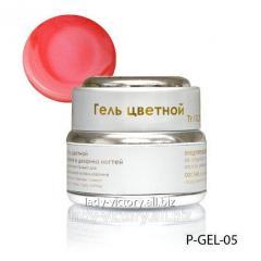 Pink nacreous gel. P-GEL-05