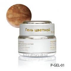 Nacreous gel of peach color. P-GEL-01