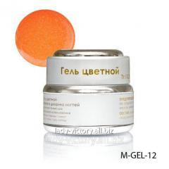 Neon-orange gel. M-GEL-12