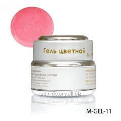 Pale pink gel with diamond shine. M-GEL-11
