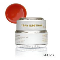 Light-coral stained glass gel. L-GEL-12