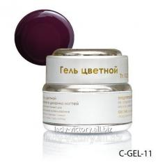 Gel for nails of cherry color. C-GEL-11