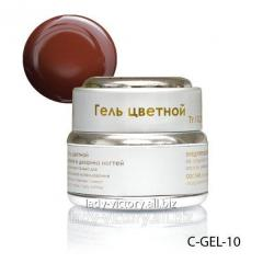 Brown nail gel. C-GEL-10