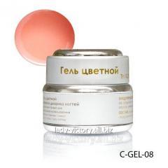 Light-peach nail gel. C-GEL-08