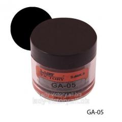 Black acrylic powder. GA-05