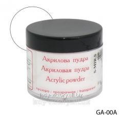 Crystal and transparent acrylic powder. GA-00A
