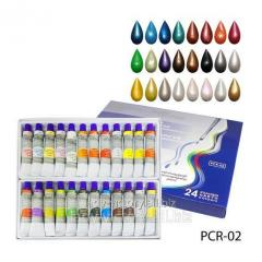 Nacreous art acrylic paints. PCR-02