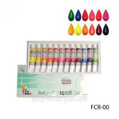 Fluorescent art acrylic paints. FCR-00