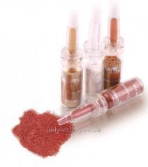 Glitterny powder for design of nails. DVS