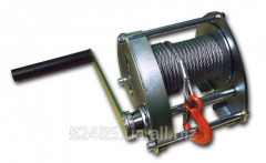 Winches mechanical 0.15 - 8 t. Different rope