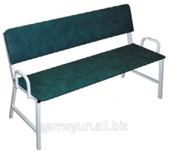 Banquette with a back 3-seater, an art. 011-02917