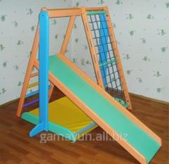 Детский спортивно - игровой комплекс Малыш-2, арт.