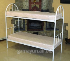 Bed 2-level metal, art. 012-01537