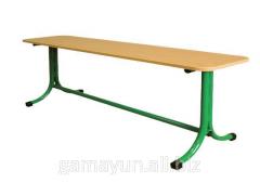 Bench school with bent legs, an art. 003-02174