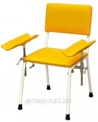 Chair donor with 2 armrests, an art. 011-02915