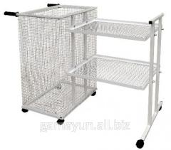 The cart for transportation of linen, an art.