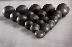 Spheres the steel grinding with the hardness of