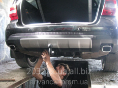 Installing tow