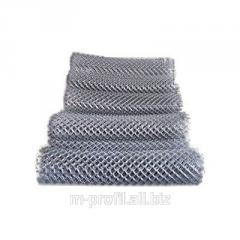Grid chain-link 30х30х1,6 galvanized, height-1m
