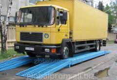 Весы автомобильные 30 тонн 6 м