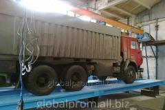 Весы автомобильные 80 тонн 20 м