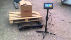 Scales pallet (trade, warehouse) 1500 kg