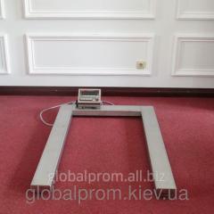 Весы палетные (торговые, складские) 3000 кг, 800 х 1200 мм