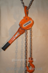 Tal manual chain lever TRR - 1,5 tons 10 m