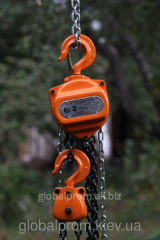 Tal manual chain sextuple TRShS - 2 tons 9 m