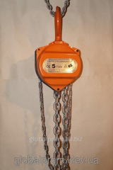 Tal manual chain sextuple TRShS - 5 tons