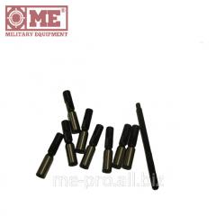 Set of measuring calibers of 7,62 mm.