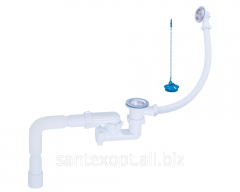 Siphon 1 1/2 ″ for a bathroom adjustable