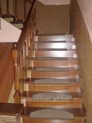 Stairs made of oak